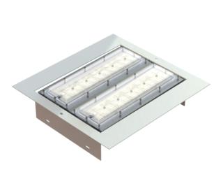 Modulight - Forecourt 100W Light Beka Retrofit light 385mmx370mm